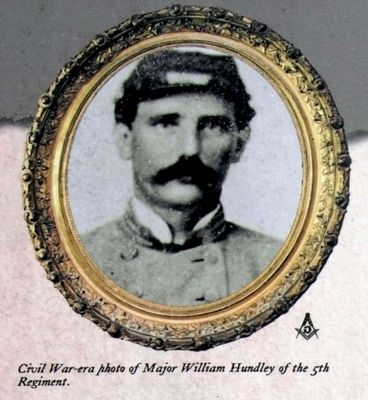 Major William Hundley of the 5th Regiment image. Click for full size.