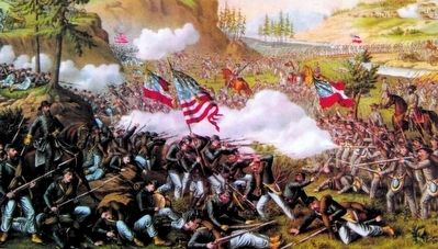 Battle of Chickamauga image. Click for full size.