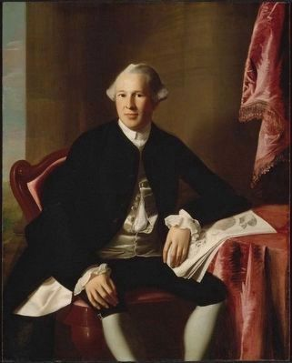 Dr. Joseph Warren (1741–1775) image. Click for full size.