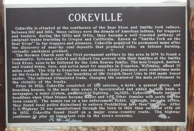 Cokeville Marker image. Click for full size.