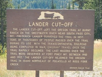 Lander Cut-off Marker image. Click for full size.
