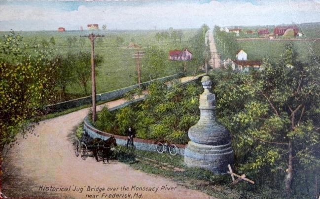 The Jug Bridge about 1908 image. Click for full size.