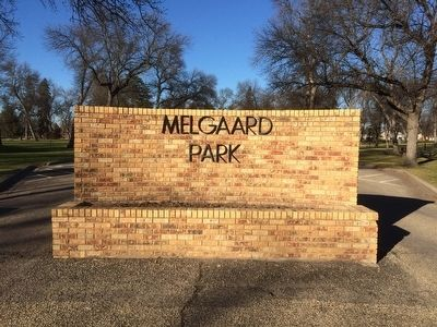 Melgaard Park Entrance image. Click for full size.