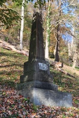 A Gravesite Monument near the Roadside image. Click for full size.