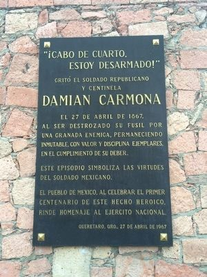 Damián Carmona additional marker image. Click for full size.