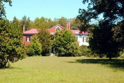 Gilbert-Alexander House<br>Mostly Hidden by Trees Photo, Click for full size