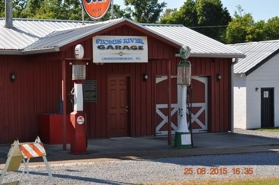 Stones River Garage Cannonsburgh, TN image. Click for full size.