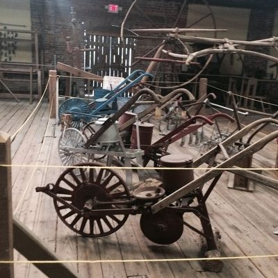 Farm equipment in the Haynes Museum image. Click for full size.
