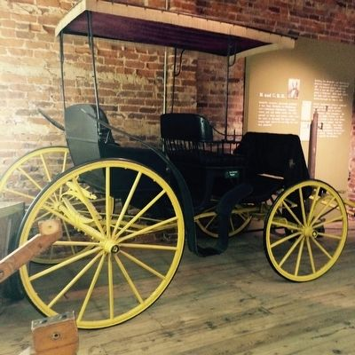 Carriage inside the Haynes Museum image. Click for full size.