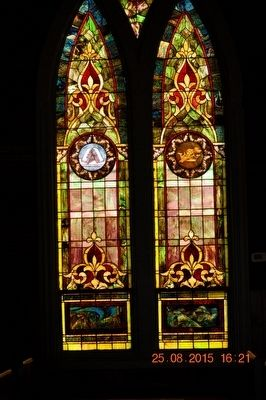 Williamson Chapel Stained Glass Windows image. Click for full size.