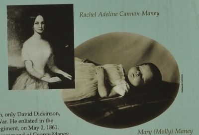 Rachel Adeline Cannon Maney & Mary (Molly) Maney image. Click for full size.