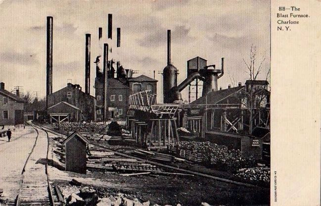 <i>The Blast Furnace, Charlotte, N.Y.</i> image. Click for full size.