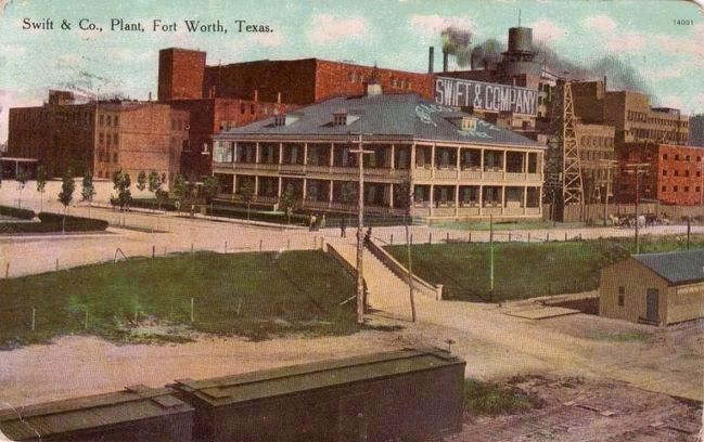 <i>Swift & Co., Plant, Fort Worth, Texas.</i> image. Click for full size.