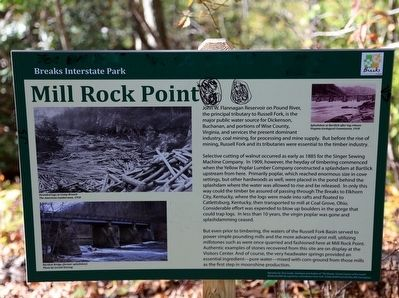 Mill Rock Point Marker image. Click for full size.