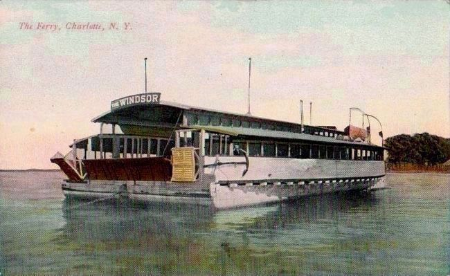 <i>The Ferry, Charlotte, N.Y.</i> - The Windsor image. Click for full size.