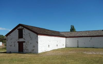 Warehouse (l) and Mess Hall (r) image. Click for full size.