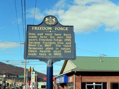 Freedom Forge Marker image. Click for full size.
