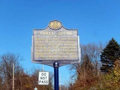 Three Locks Marker image. Click for full size.