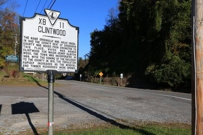 Clintwood Marker image. Click for full size.