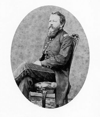 James F. Huntington<br>Captain of the 3rd Volunteer Brigade image. Click for full size.