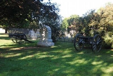 Battery C, First West Virginia Artillery Monument image. Click for full size.