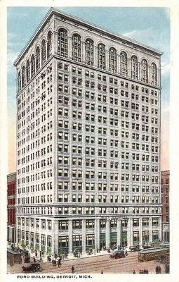 <i>Ford Building, Detroit, Mich.</i> image. Click for full size.