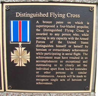 Distinguished Flying Cross Marker image. Click for full size.