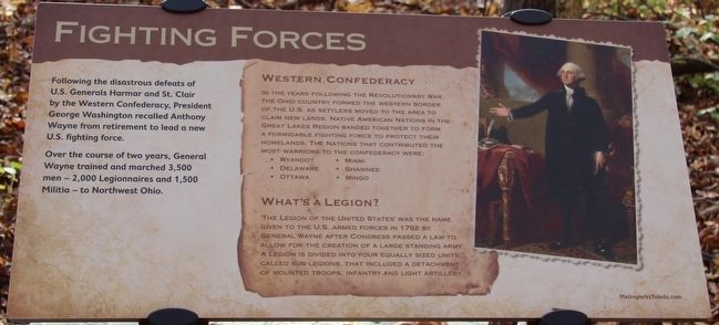 Fighting Forces Marker image. Click for full size.