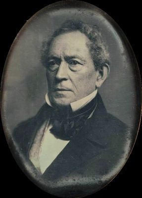 Edward Everett (1794-1865)<br>Principle Speaker at the Dedication Ceremony Photo, Click for full size
