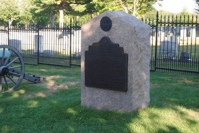 Battery G, Fourth U.S. Artillery Monument image. Click for full size.
