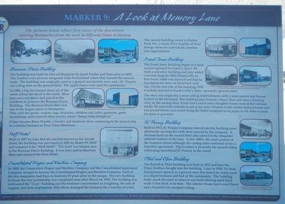 A Look at Memory Lane Marker image. Click for full size.