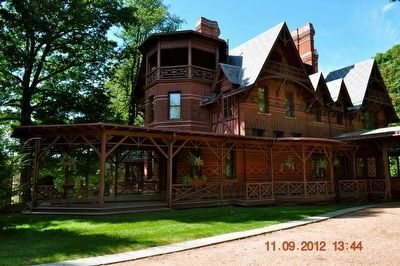 Mark Twain's Home in Hartford, CT image. Click for full size.