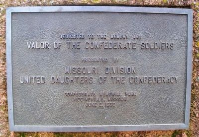 Confederate Soldiers' Monument Marker image. Click for full size.