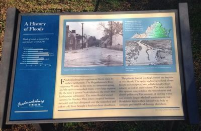 A History of Floods Marker image. Click for full size.