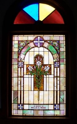 Confederate Home Chapel Window image. Click for full size.