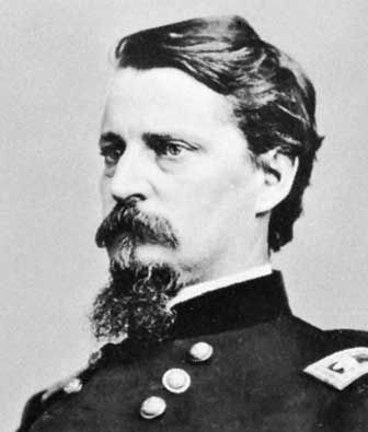 Major General Winfield Scott Hancock (1824-1886) Photo, Click for full size