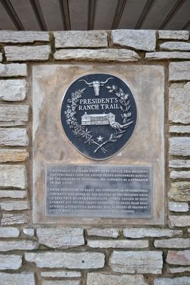 President's Ranch Trail Marker image. Click for full size.