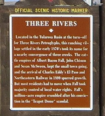 Three Rivers Marker image. Click for full size.