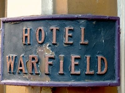 Warfield Hotel image. Click for full size.