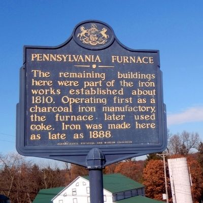 Pennsylvania Furnace Marker image. Click for full size.
