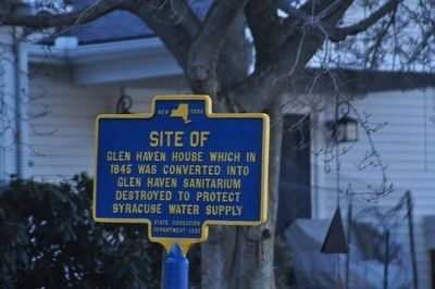 Site of Glen Haven HouseMarker image. Click for full size.