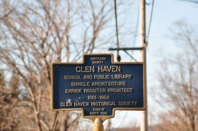 Glen Haven Marker image. Click for full size.