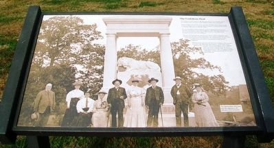 Our Confederate Dead Marker image. Click for full size.