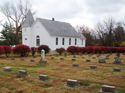 Confederate Home Chapel and Cemetery image. Click for full size.