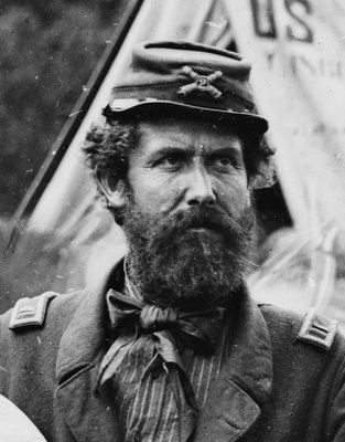 Capt. John C. Tidball (1825-1906)<br>Commander of the Second Brigade image. Click for full size.