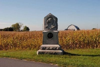 1st Regiment Maryland Cavalry Monument image. Click for full size.
