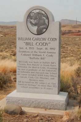 William Garlow Cody Marker image. Click for full size.