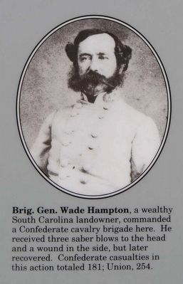 Gen. Wade Hampton image. Click for full size.