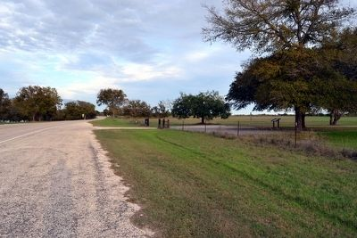 View to East Along Ranch Road 1 image. Click for full size.