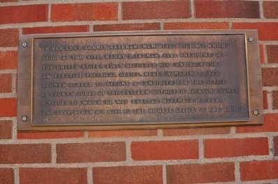 Harry S Truman Marker image. Click for full size.